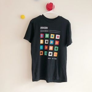 RVCA color theory graphic tee Size medium